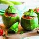 Rellenar verduras, cortes y limpieza
