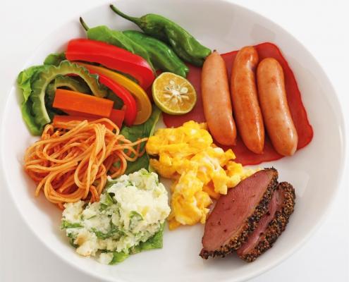 ¿Qué proporción de alimentos debería tener un plato de comida equilibrado?