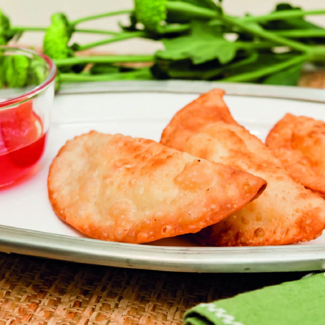 Truco de cocina: cómo freír empanadillas