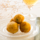 croquetas de patatas rellenas de queso mozzarella
