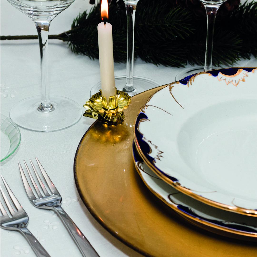 Cómo vestir la mesa en Navidad