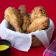 pollo frito crujiente