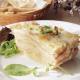 lasaña de patatas, jamón cocido y queso