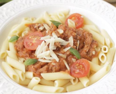 salsa boloñesa para pasta
