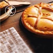 Recetas Empanada de Dátiles, beicon, Jamón Cocido y Queso Sin Gluten