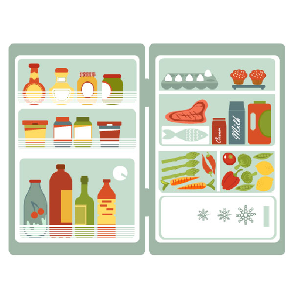 Truco de Cocina, ¿Cómo se colocan los alimentos en la nevera?
