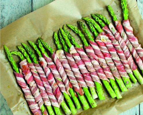 Cómo cocinar los espárragos verdes