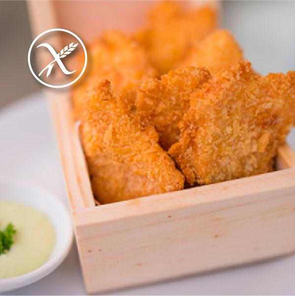 receta fingers de pollo sin gluten
