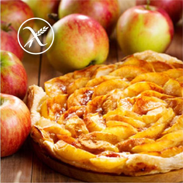 Tarta de manzanas sin gluten