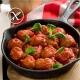 Receta albóndigas con salsa de tomate sin gluten