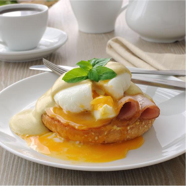 Receta Huevos 'Benedictine'