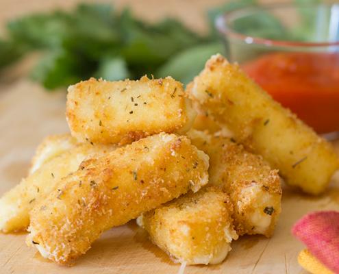 palitos de queso crujientes