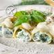 Receta Canelones Rellenos de Espinacas y Queso Ricotta Sin Gluten