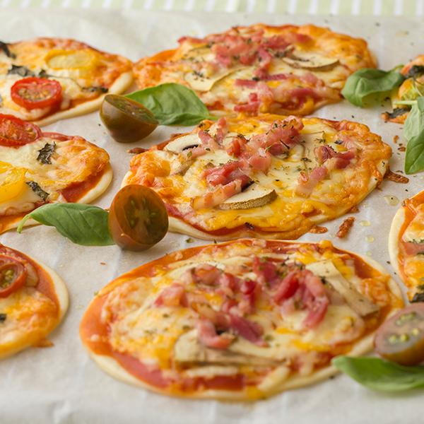 Mini Pizzas Con Obleas Recetas La Masía
