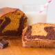 receta de bizcocho amaromado esponjoso de chocolate y vainilla