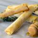 pasta fila rellena de queso cabra y miel