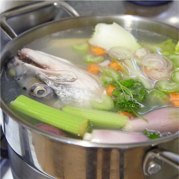Truco de Cocina, Cómo aprovechar las espinas y la cabeza del pescado