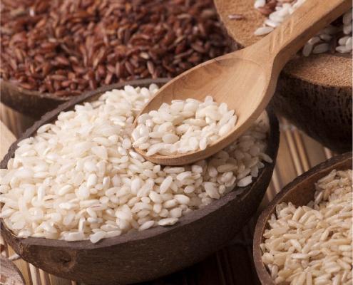 Diferentes tipos de arroz y su uso en la cocina