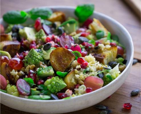 ¿Sabes qué tiene que llevar la ensalada perfecta?