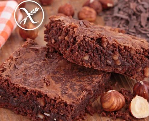 Recetas Brownie de Chocolate Sin Gluten