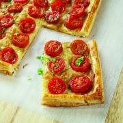 Tarta Tatin de Tomates Cherry