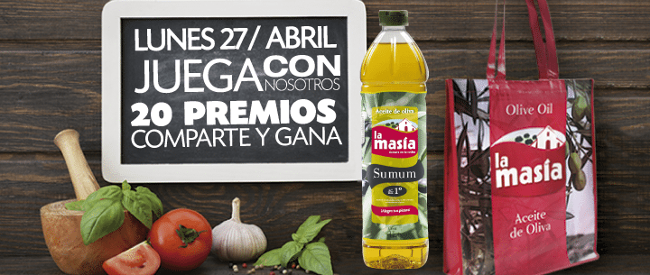 Bases Legales Juego La Masía 27 Abril