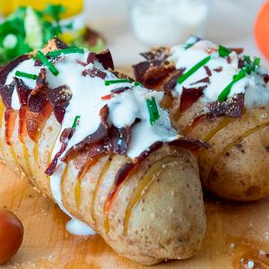 patatas hasselback al horno