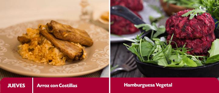 menu semanal recetas del 13 al 17 abril