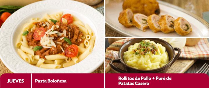 menú semanal de recetas del 27 de abril al 1 mayo