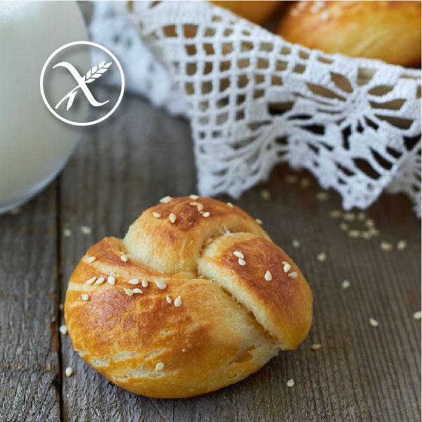 Receta de Pan de Leche sin gluten
