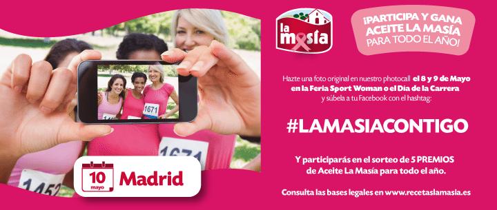 Bases Legales Promoción Carrera de la Mujer Madrid