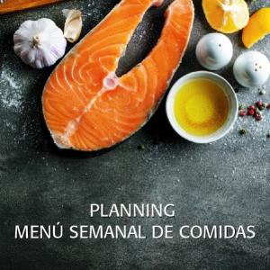 Planning, Menú Semanal de Comidas