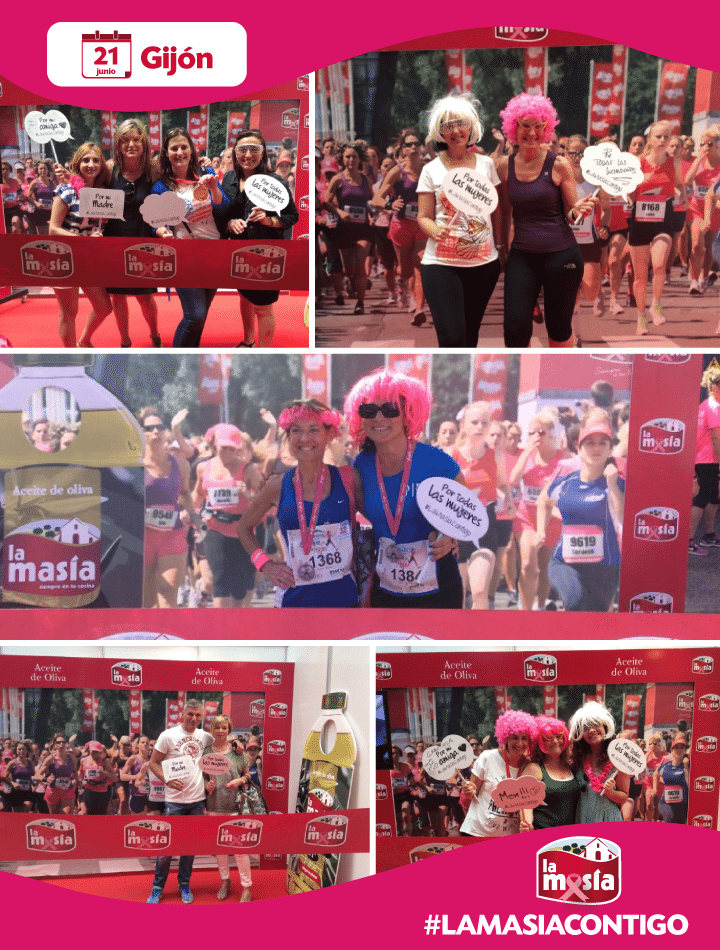 Ganadoras Carrera de La Mujer Gijón