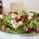 ensalada de espinacas y gorgonzola
