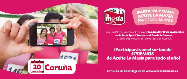 Ganadoras Carrera de La Mujer Coruña