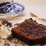 Receta bizcocho de chocolate sin gluten