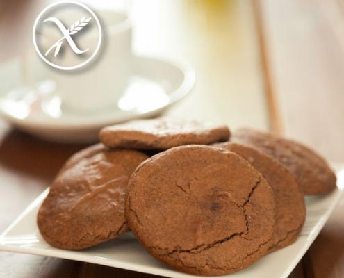 Receta de galletas de chocolate sin gluten