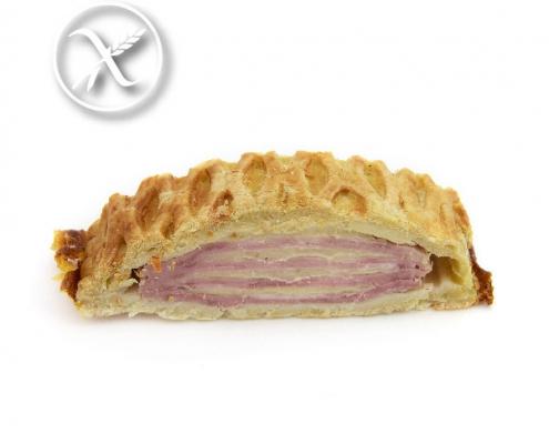 Empanada de Bacon, York y Queso sin gluten