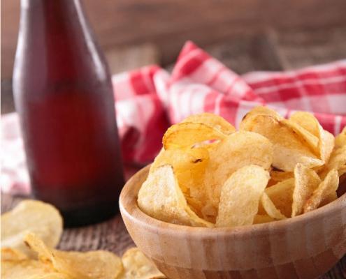 Truco para preparar chips de patata