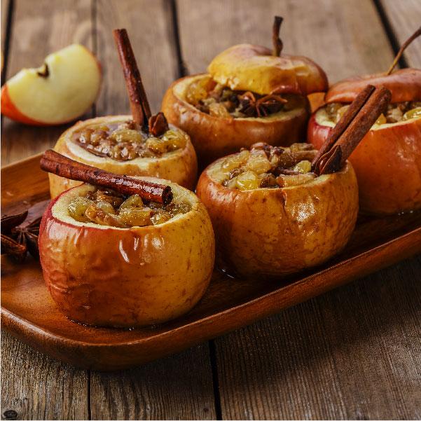 Truco de cocina: cómo asar manzanas exprés