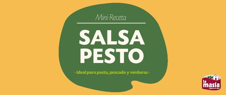 Recetas arroces y pastas receta truco de cocina c mo - Como se hace la salsa pesto para pasta ...
