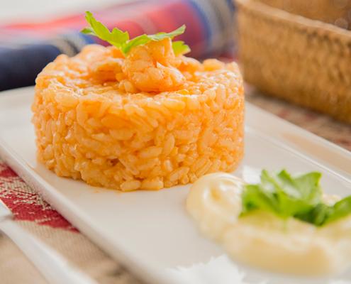 arroz a banda con alioli
