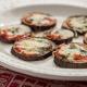 Berenjenas con tomate y queso