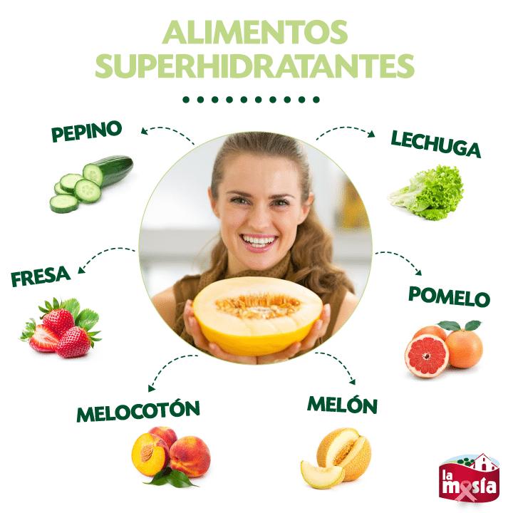 Truco de salud alimentos superhidratantes