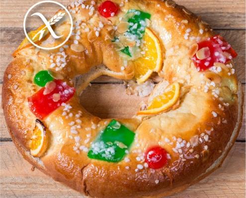 Recetas Roscón de Reyes Sin Gluten
