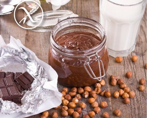 Crema de cacao casera sin gluten