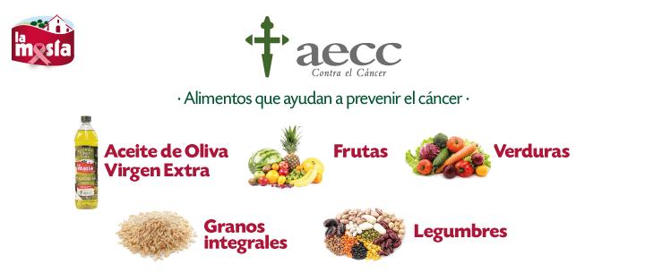 AECC. Alimentos para prevenir el cáncer
