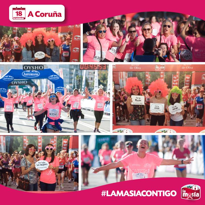 Ganadores promoción Carrera de la Mujer A Coruña
