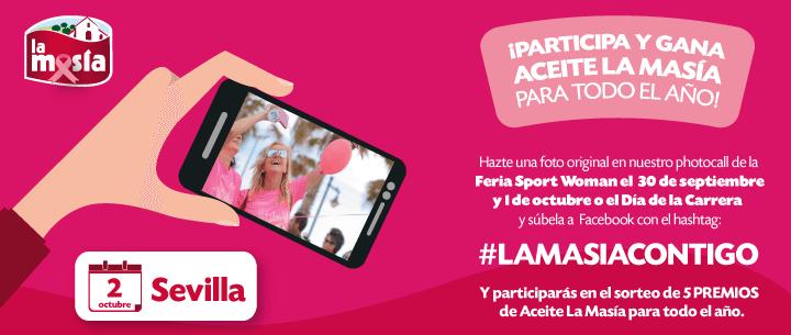 Promoción Carrera de la Mujer Sevilla 2016
