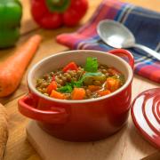 lentejas con verduras fácil
